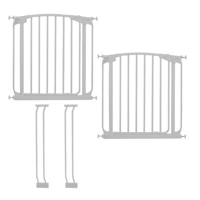 Image of Dreambaby Chelsea Swing Close Gate Combo Pack Type: Value Pack, Color: White