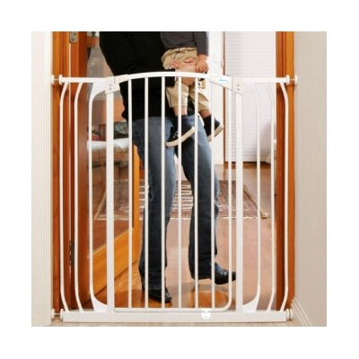 Dream Baby Dreambaby Madison Xtra Tall and Wide Swing Close Gate Combo Pack - Color: Black