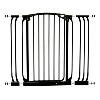 Dreambaby Madison Xtra Tall Swing Close Gate Extra Value Pack - Type: Value Pack, Color: Black