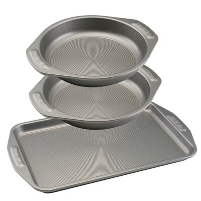 Non-Stick 3 Piece Cookie and Cake Set