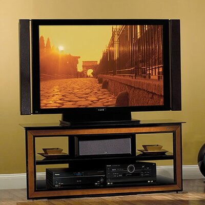 Cheap Bello 52″ TV Stand in Black and Cherry (BB1181)
