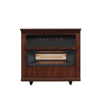 Bello 13QH8000 W500 Portable Infragen™ Smart 5,200 BTU Electric Infrared  Cabinet Heater With Safer Plug And Sensor