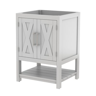 Freestanding 24 Single Bathroom Vanity Base