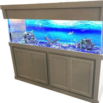 Mattson Aquarium Stand Size: 74 H x 76.7 W x 26.7 D