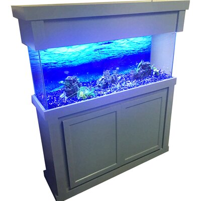 Modern Birch Series Aquarium Cabinet Size: 34.5 H x 50.5 W x 14.5 D