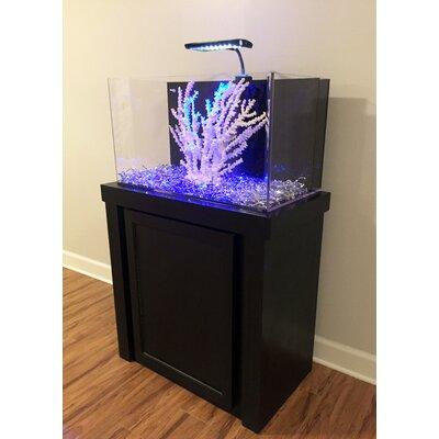 Fusion Birch Aquarium Kit Finish: Black, Size: 53 H x  33 W x 18 D