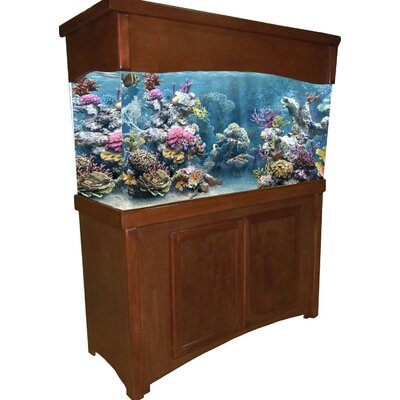 Calypso Birch Series Aquarium Stand Finish: Cherry, Size: 65 H x 52.5 W x 15.5 D