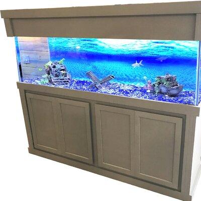 Mattson Aquarium Stand Size: 74 H x 76.7 W x 20.5 D