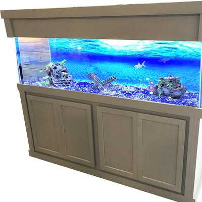 Plato Aquarium Cabinet Size: 34.5 H x 74.5 W x 74.5 D