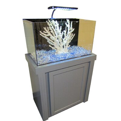 Fusion Birch Aquarium Kit Finish: Gray, Size: 53 H x  33 W x 18 D