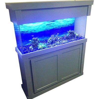 Plato Aquarium Cabinet Size: 34.5 H x 50.5 W x 19.5 D