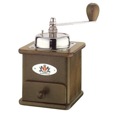 Brasilia Beech Wood Manual Coffee Grinder Finish: Dark M040012