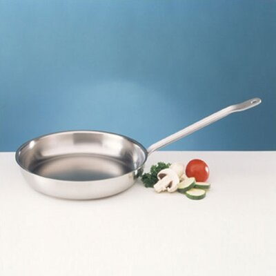 Sitram Catering Stainless Steel Frying Pan Size-13.5-in.