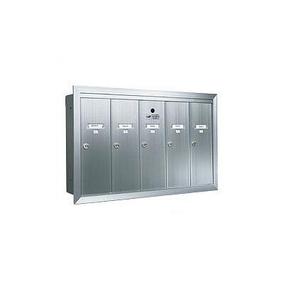 Florence 1250 Series Vertical Mailbox Unit - Number of Compartments: 7 - Seven, Color: Aluminum Anodized at Sears.com