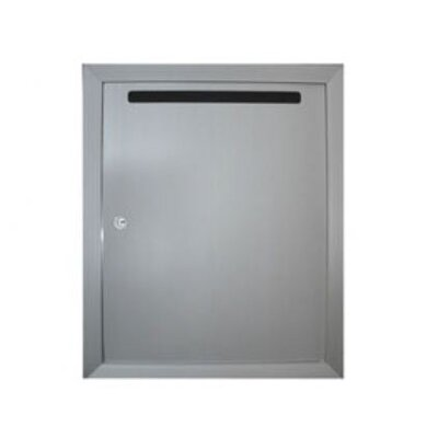 Florence 120 Series Vert Mail Collection Box -Recessed Depth:Fully