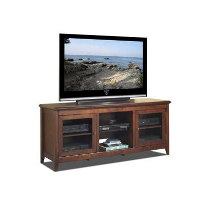 "Cheap Tech-Craft 62"" Hi-Boy TV Credenza in Walnut (TC0291)"