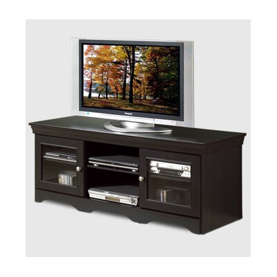 Cheap Tech-Craft Veneto 60″ TV Stand in Distressed Black (TC0201)