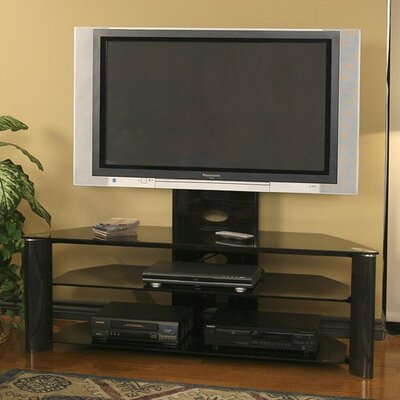 Cheap Tech-Craft Solution 55″ TV Stand With Mount in Black (55″ Screens) (TC0219)