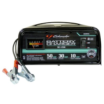 Schumacher Electric 12V 10/30/50 Amp Charger and Booster at Sears.com