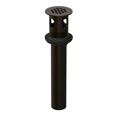 Grid Strainer Assembly with Overflow Finish: Oil Rubbed Bronze