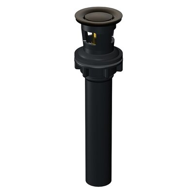 Touch Down Drain Assembly with Overflow Finish: Oil Rubbed Bronze