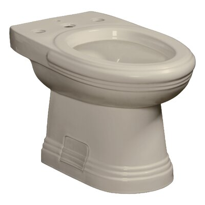 Orrington 15 Floor Mount Bidet Finish: Biscuit