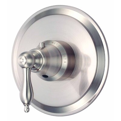 Fairmont Thermostatic Shower Faucet Trim with Level Handle Finish: Oil Rubbed Bronze
