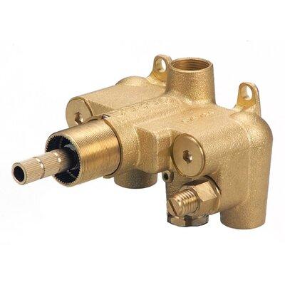 Single Handle 0.75 Thermostatic Shower Valve