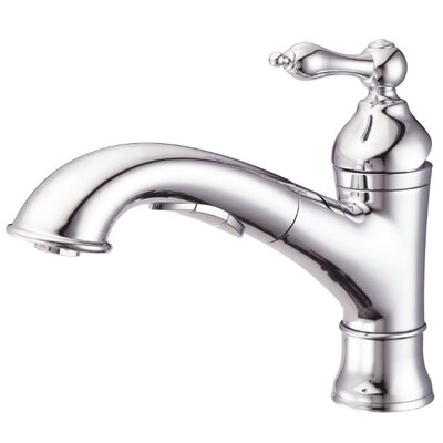 Fairmont Touchless Single Handle Deck Mount Kitchen Faucet with 3 Function Spout Finish: Chrome
