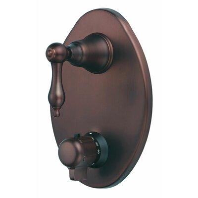 Fairmont Thermostatic Shower Faucet Trim Finish: Oil Rubbed Bronze