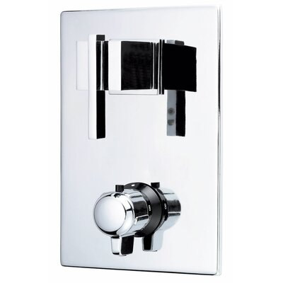 Sirius Thermostatic Shower Faucet Trim Finish: Chrome