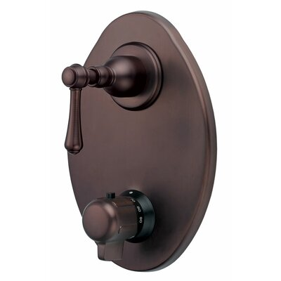 Opulence Thermostatic Shower Faucet Trim Finish: Tumbled Oil Rubbed Bronze