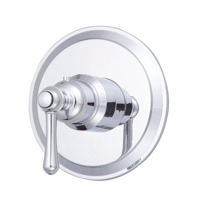 Opulence Thermostatic Shower Faucet Trim Finish: Chrome