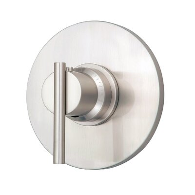Parma Thermostatic Shower Faucet Trim Finish: Brushed Nickel