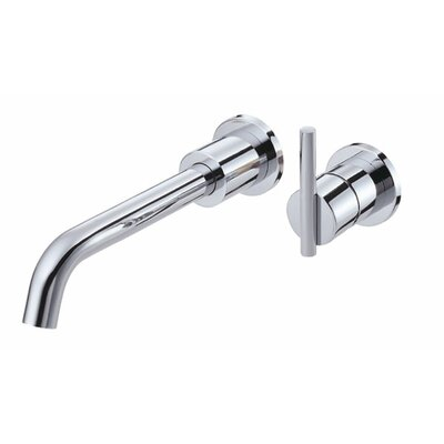 Parma Single Handle Wall Mount Vessel Faucet Finish: Chrome