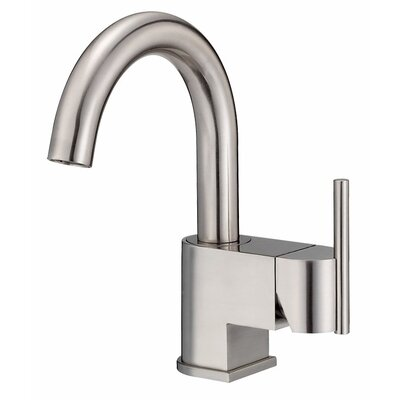Como Single Handle Single Hole Bathroom Faucet Finish: Brushed Nickel