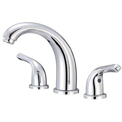 Melrose Double Handle Mini Widespread Bathroom Faucet Finish: Chrome