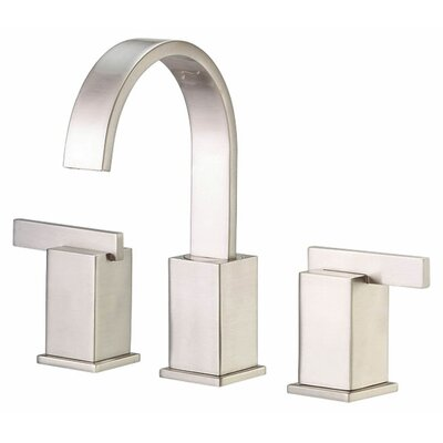 Sirius Double Handle Mini Widespread Bathroom Faucet Finish: Brushed Nickel