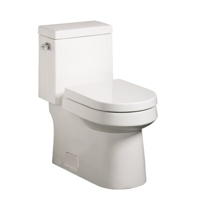 Ziga Zaga High Efficiency 1.28 GPF Elongated One-Piece Toilet
