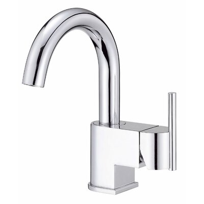 Como Single Handle Single Hole Bathroom Faucet Finish: Chrome