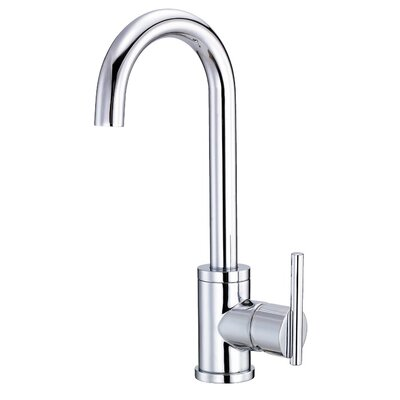 Parma Single Handle Kitchen Faucet Finish: Chrome