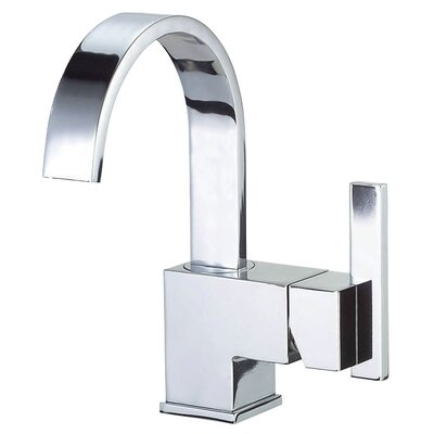 Sirius Single Handle Single Hole Bathroom Faucet Finish: Chrome