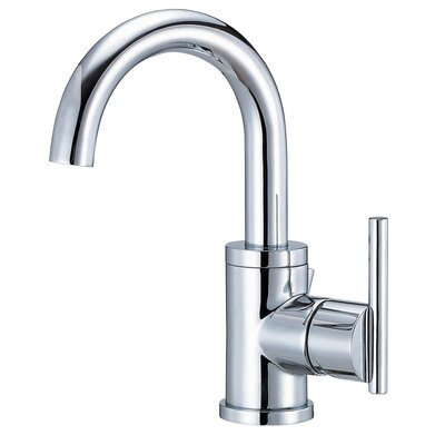 Parma Single Handle Single Hole Bathroom Faucet Finish: Chrome