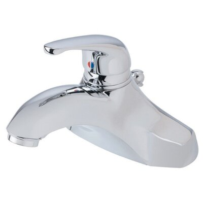 Melrose Single Handle Centerset Bathroom Faucet Finish: Chrome
