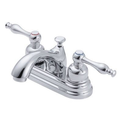 Sheridan Double Handle Centerset Bathroom Faucet Finish: Chrome