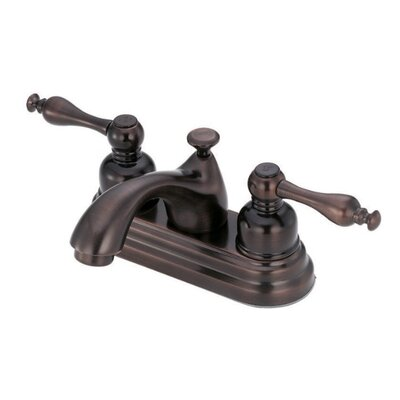 Sheridan Double Handle Centerset Bathroom Faucet Finish: Oil Rubbed Bronze