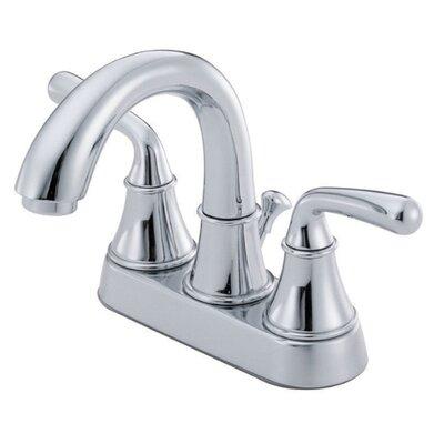 Bannockburn Double Handle Centerset Bathroom Faucet Finish: Chrome