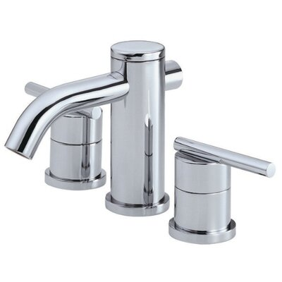 Parma Double Handle Mini Widespread Bathroom Faucet Finish: Chrome