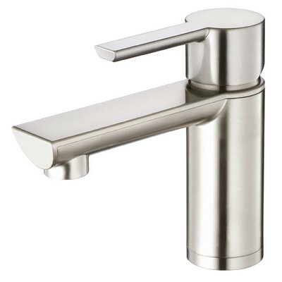 Adonis Single Handle Single Hole Bathroom Faucet Finish: Brushed Nickel