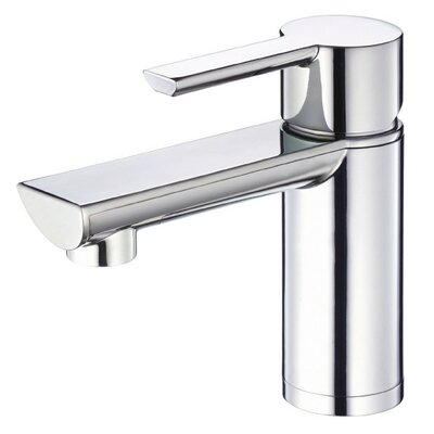 Adonis Single Handle Single Hole Bathroom Faucet Finish: Chrome